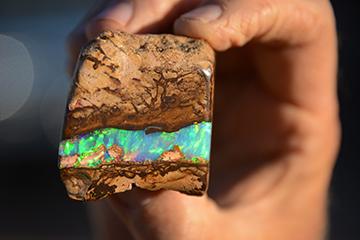 Opal Fossicking